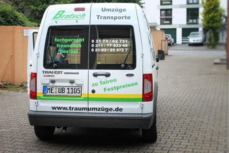 Bratsch Umzüge Monheim Düsseldorf
